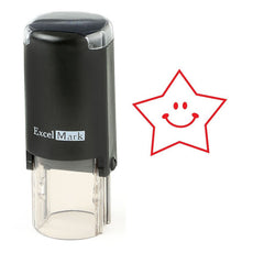 Happy Star Stamp