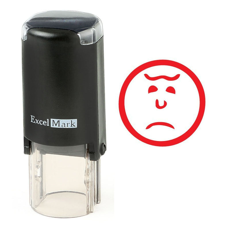 Frown Face 2 Stamp
