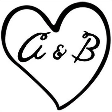 Heart Initials Stamp
