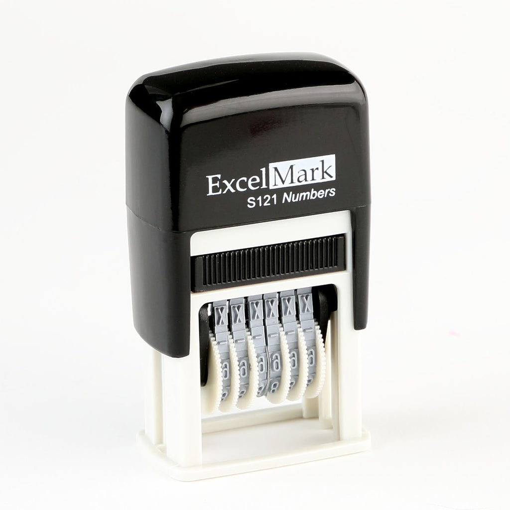 ExcelMark S121 Mini Number Stamp
