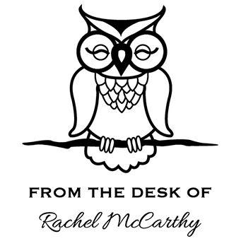 Desk Owl Stamp