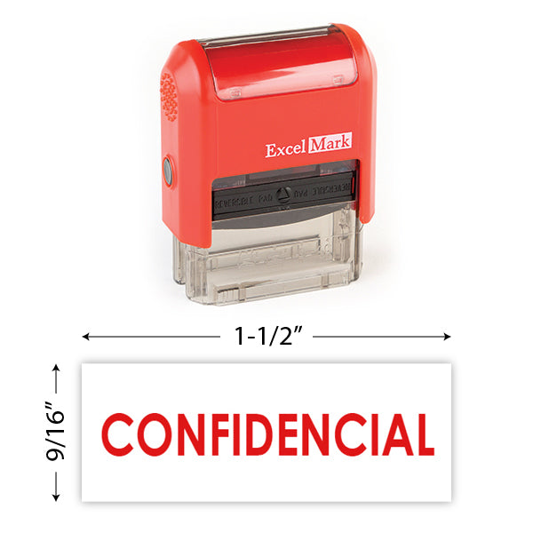 Confidencial Stamp
