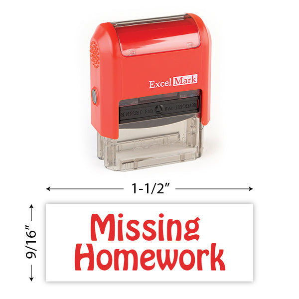 Missing Homework Stamp