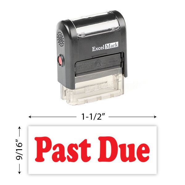 Past Due Stamp