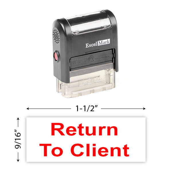 Return To Client Stamp