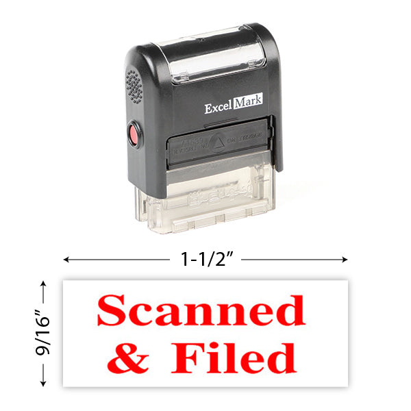 Scanned & Filed Stamp
