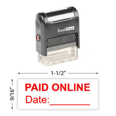 Paid Online Stamp