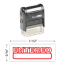 Entered Stamp