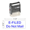 E-Filed Do Not Mail Stamp