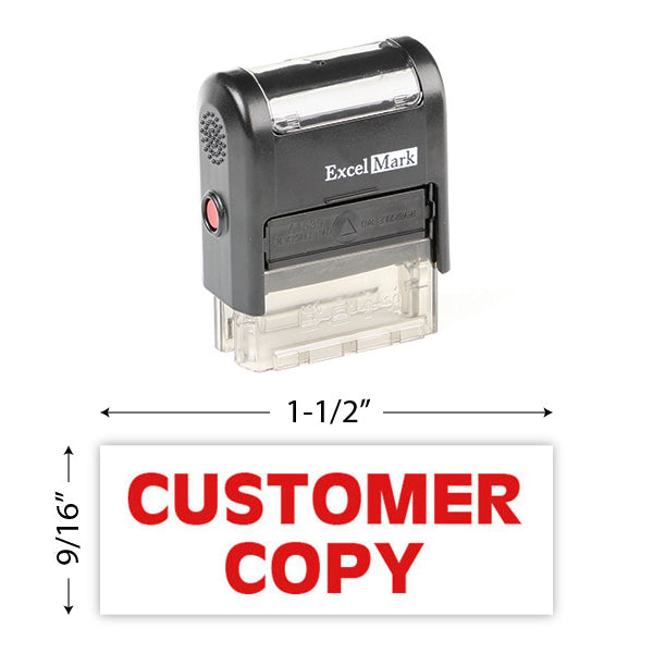 Customer Copy Stamp