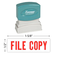 Xstamper File Copy Stamp