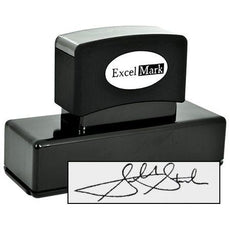 XL Pre-Inked Signature Stamp