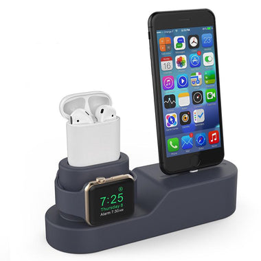 TNTON Wireless Charging Dock & Stand Holder For iPhone, Apple Watch, AirPod 2.0