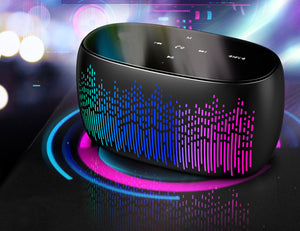 LED Display Bluetooth Connection Speaker - tntongadgets