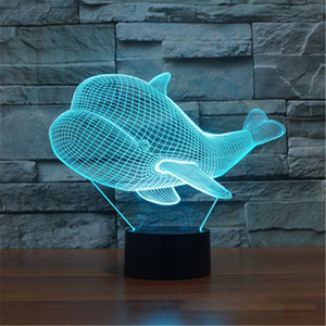 3D Colorful Gesture Control Illusion Light - tntongadgets