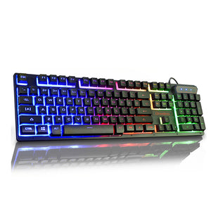 V8 Waterproof Mechanical Gaming Keyboard - tntongadgets