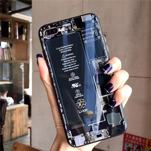 Phone Case With Inner Structure Display - tntongadgets
