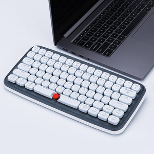 Zero Typewriter Wireless Mechanical Keyboard - tntongadgets