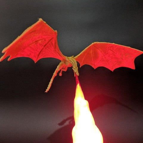 Dragon Lamp 3D-Printed - tntongadgets