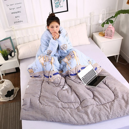 Creative Lazy Washed Cotton Quilt Winter - tntongadgets