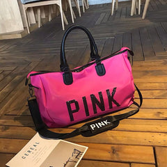 PINK Duffle Purse