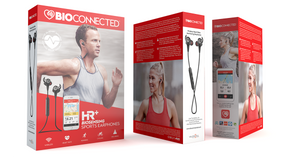 BioConnected Heart Rate Earphones & Fitness App