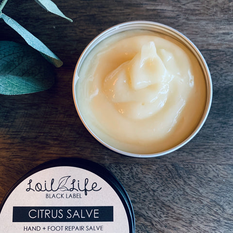Citrus Salve for Hand + Foot Repair