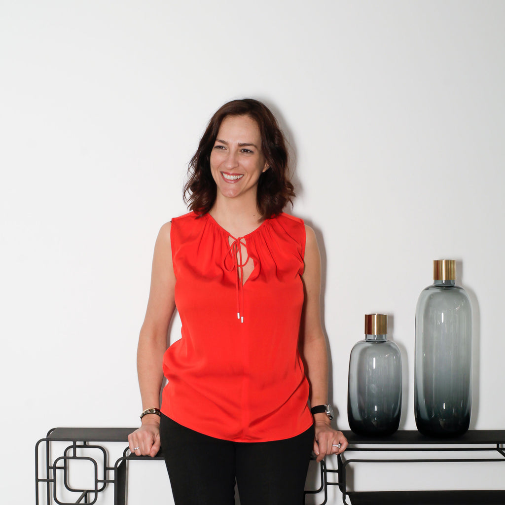 Dimitra Hatziplis founder and owner of Opsis Designs, homewares, gift and furniture store