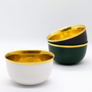 Champagne Bowl: Matt Slate Grey