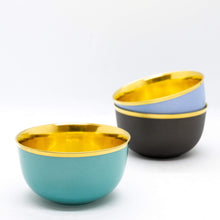 Load image into Gallery viewer, Augarten Wien Bar Champagne Bowl:Turquoise