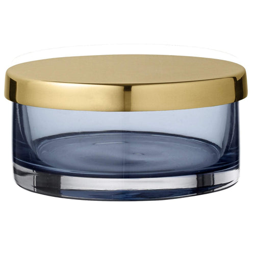 AYTM Tota Cylinder Jar with Lid Navy- S