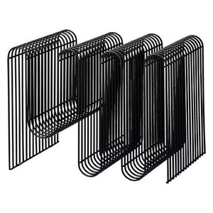 Curva Magazine Holder Black