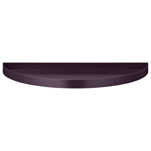 Unity Half Circle Tray - Aubergine Large