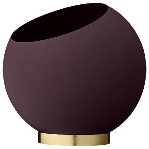 AYTM Globe Flower Pot Bordeaux- M