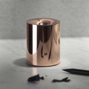 Beyond Object Funno Pencil Sharpener and Paper Weight Copper