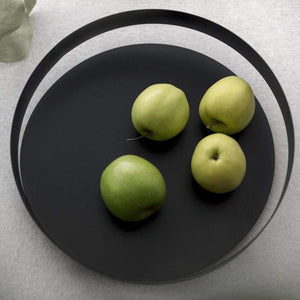 Beyond Object Orbis Fruit Bowl Medium Black
