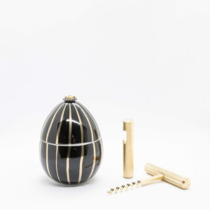 Gift Pack - Faberge and Gold Plated Wine and Bottle Opener