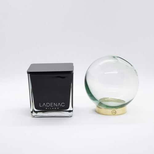 Gift Pack- Minimal Candle and Globe Vase