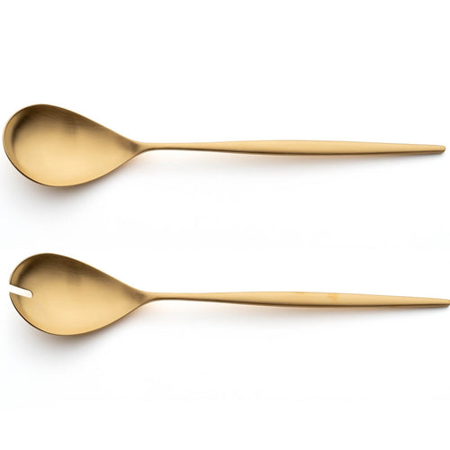 Cutipol Moon Matte Gold Salad Set