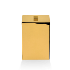 DECOR WALTHER DW 75 Paper Bin with Lid - Polished Gold