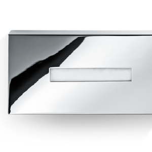 DECOR WALTHER KB 82 Rectangular Tissue Box- Chrome