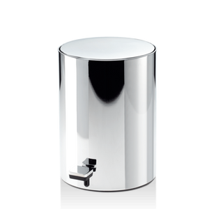 DECOR WALTHER TE 50 Round Pedal Bin in Chrome