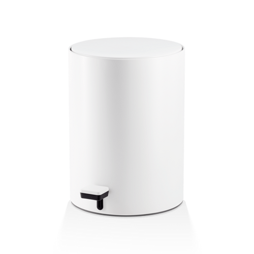 DECOR WALTHER TE 50 Round Pedal Bin- White Matt