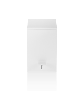 Decor Walther TE 70 Square Pedal Bin- White Matt