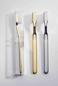 DECOR WALTHER Tooth Brush- Polished Gold
