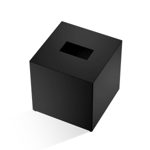DECOR WALTHER KB 83 Tissue Box Square- Black Matt