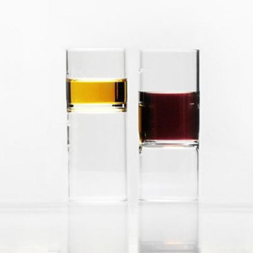 Fferrone Revolution Crystal Glass Liqueur Glasses - Set of 2