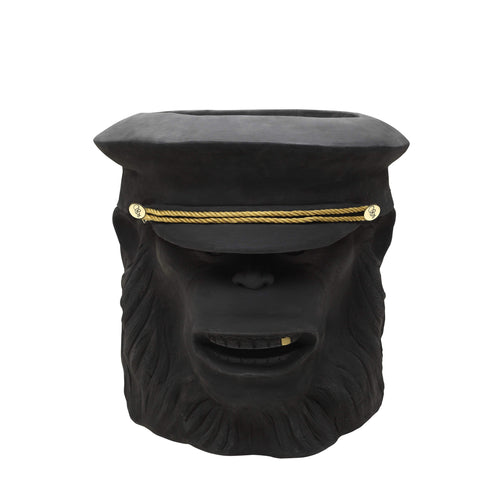 Garden Glory Black Monkey Face Pot- Large