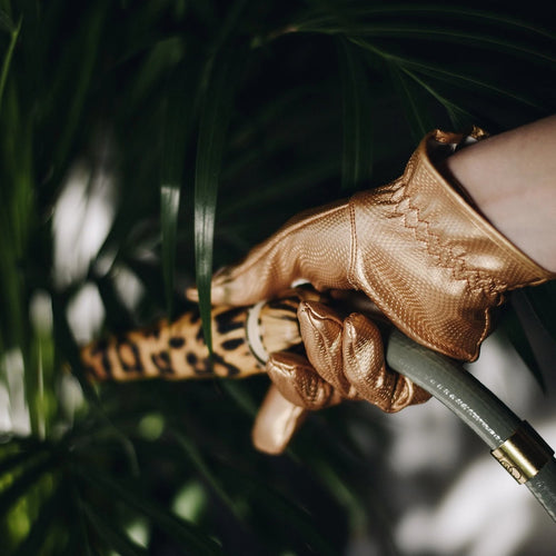 Garden Glory Gardening Gloves- Gold Digger Medium
