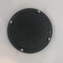 Load image into Gallery viewer, Giobagnara David Coaster in Shagreen black